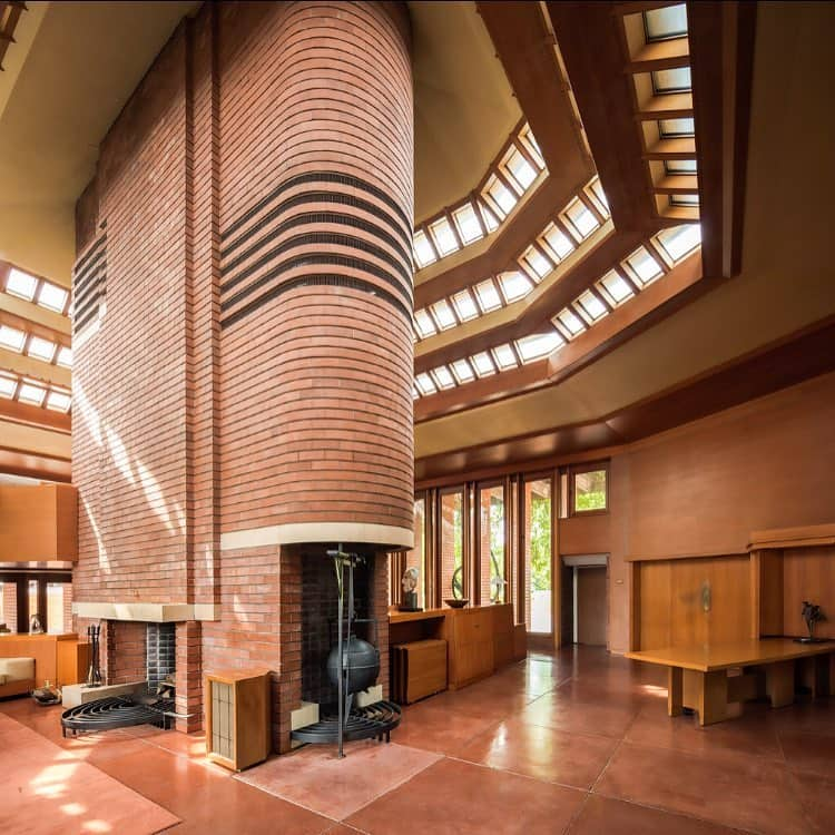 Frank Lloyd Wright SC Johnson Wax Complex - interior