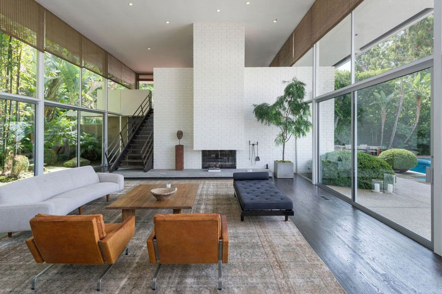 Mid-century Modern Homes & Contemporary Style Houses