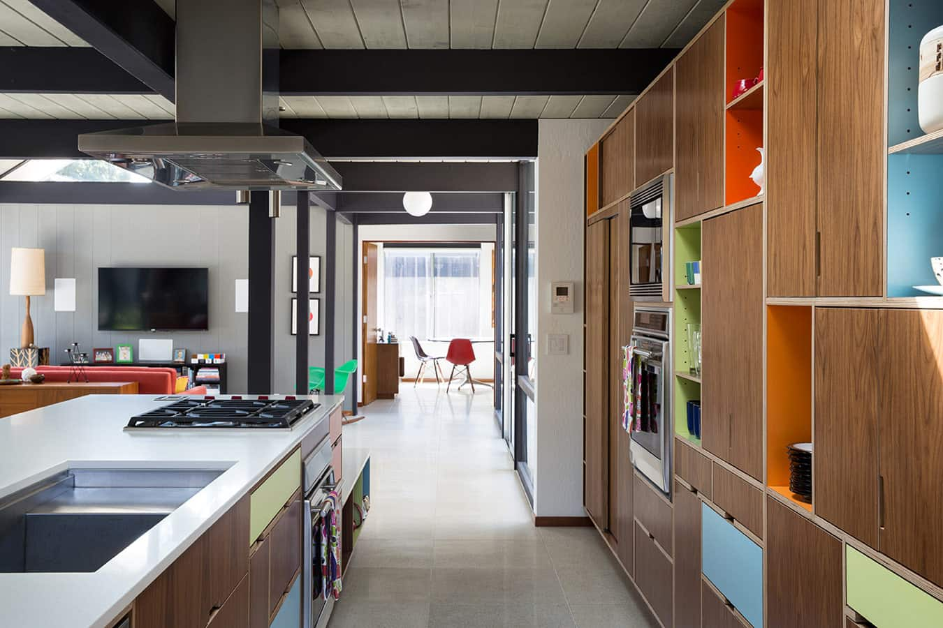 Renewed Classic Eichler by Klopf Architecture - kitchen