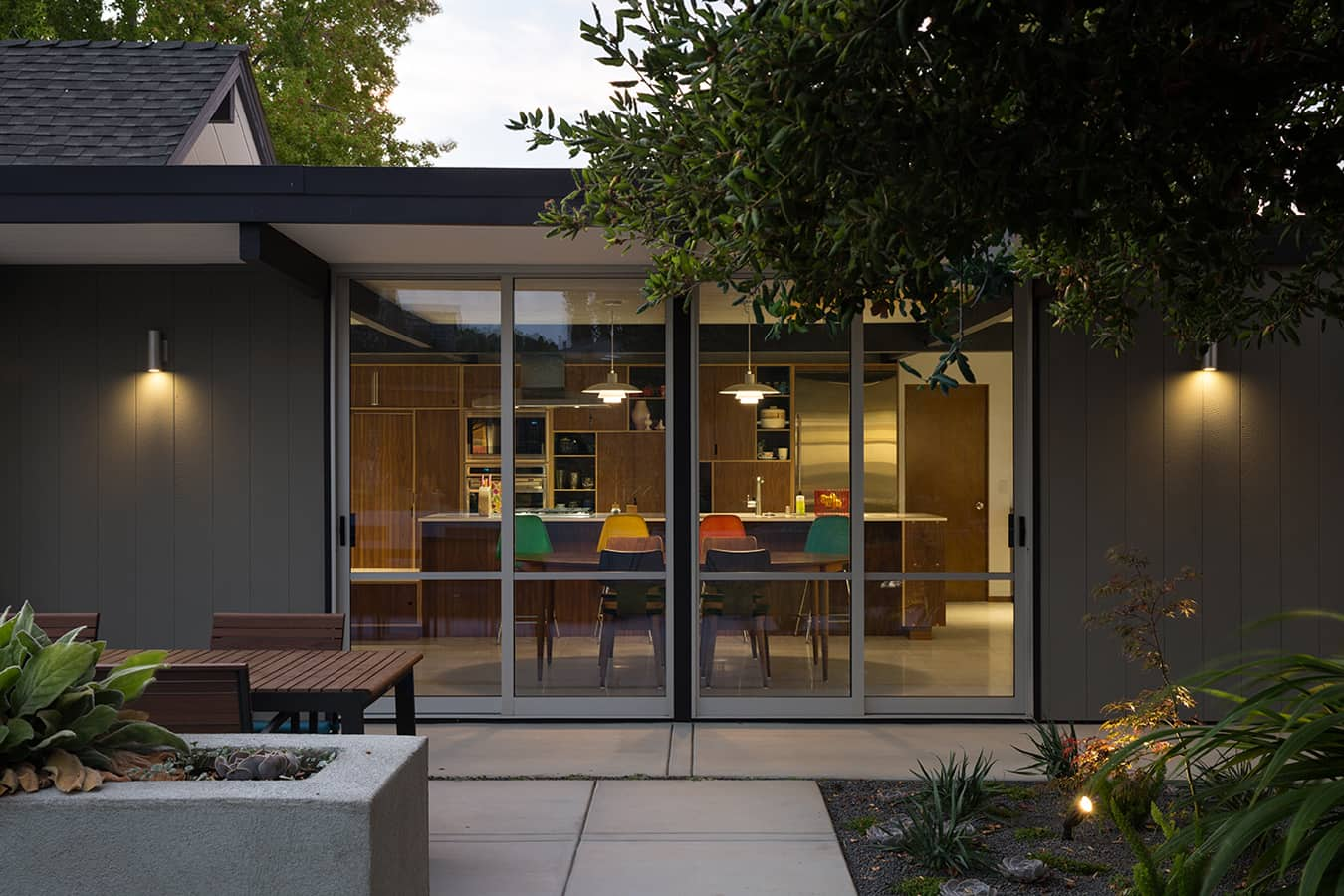 Renewed Classic Eichler by Klopf Architecture exterior