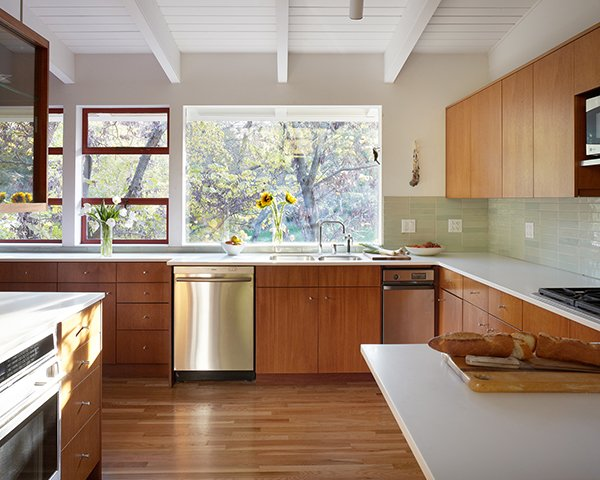 Mid-Century Remodel in Kansas - kitchen