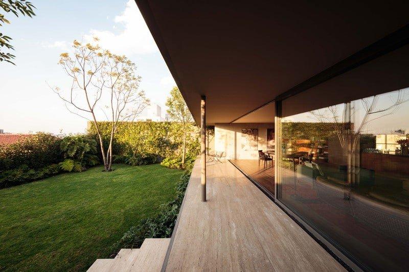 modernist house mexico city - Casa Caucaso - Jose Juan Rivera Rio architect - outside