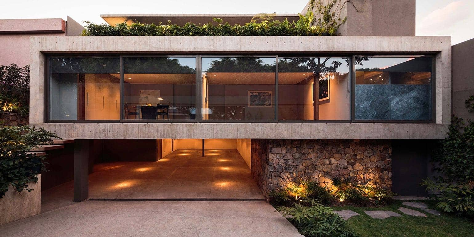 modernist house mexico city - Casa Caucaso - Jose Juan Rivera Rio architect -