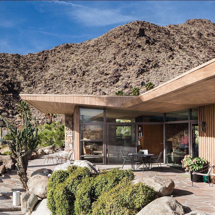 mid-century modern house - E. Stewart Williams Edris house - Darren Bradley -