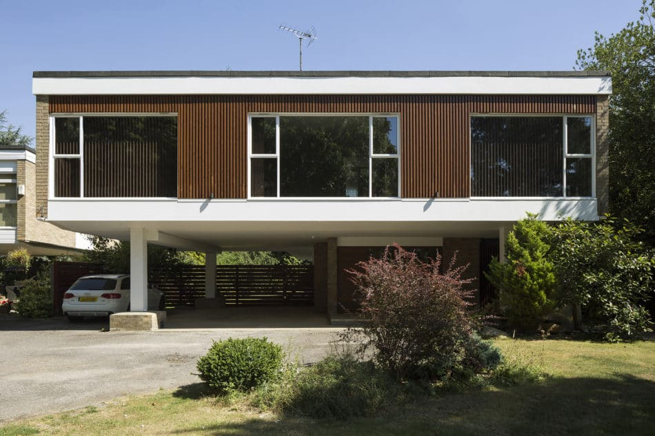 mid-century in Ducketts Mead _ Clear Architects - front