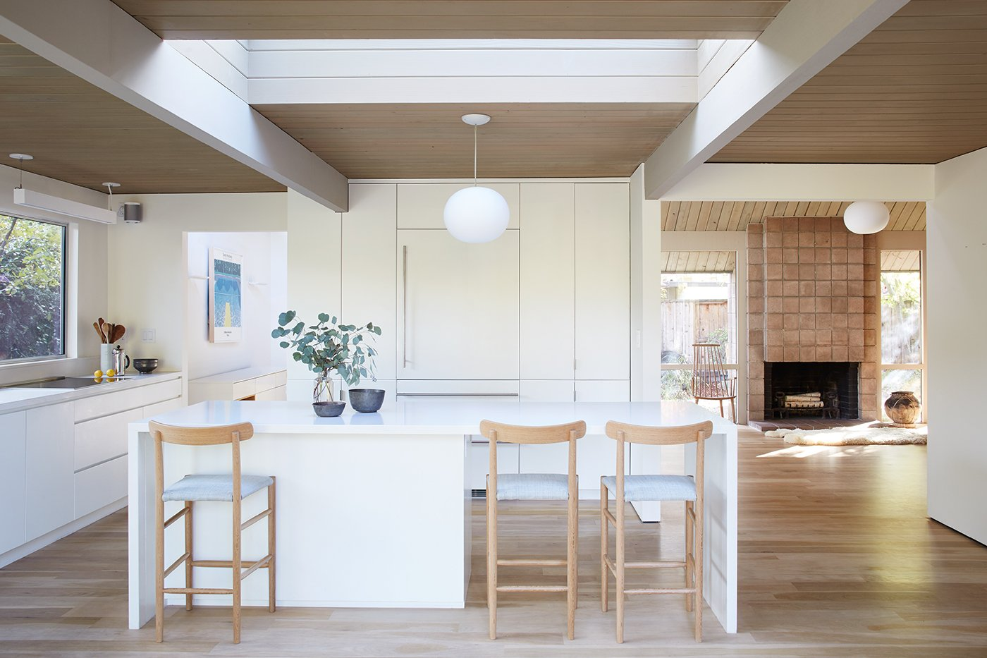 Eichler home - Reenwood House - kitchen