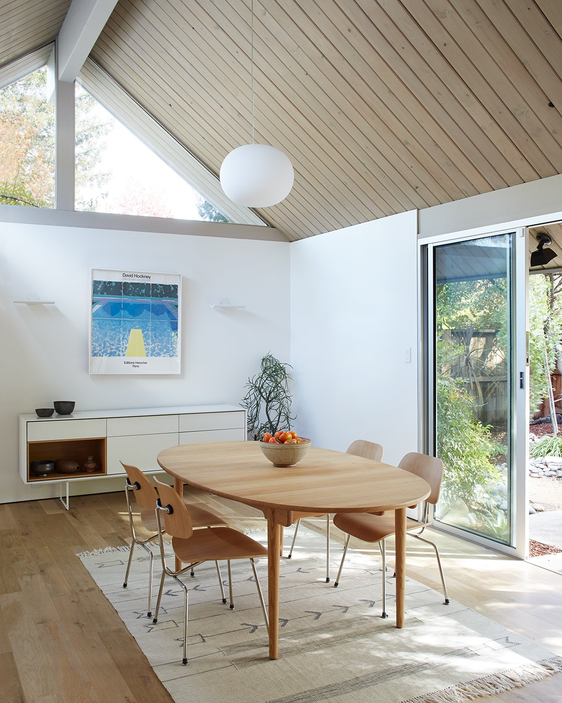 Eichler home - Reenwood House - dining area
