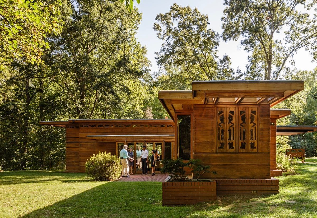 100 Frank Lloyd Wright Style Home Plans House Of