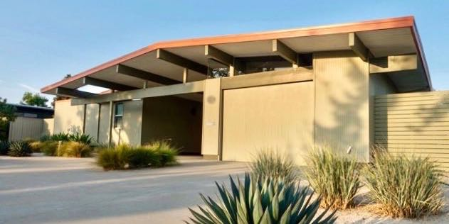 Hanh Bannister - Eichler Home renovation - front