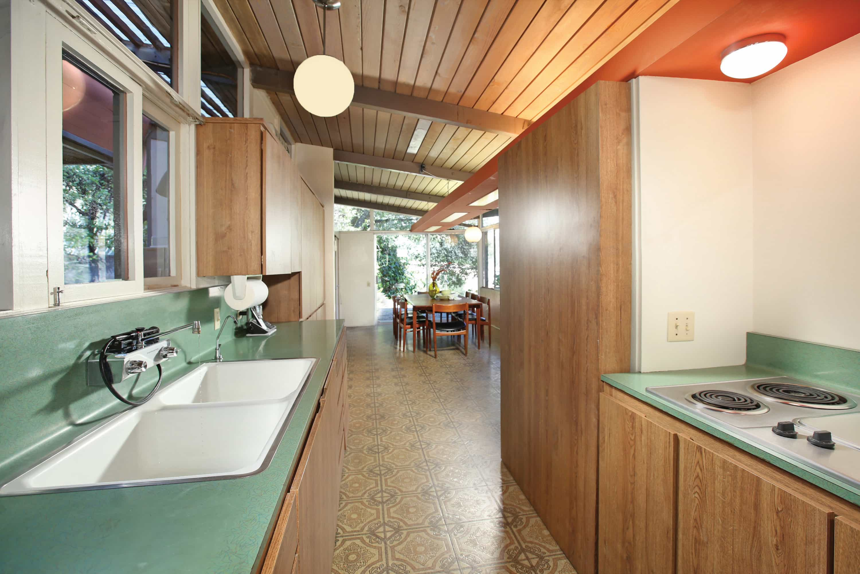 Kemper Nomland Jr mid-century House in Altadena - kitchen