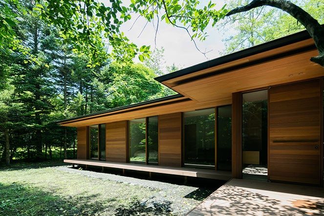 Japanese And Modernist Architecture Come Together In