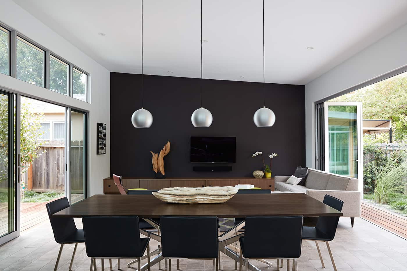 Eichler house San Carlos California_Klopf architect - dining area