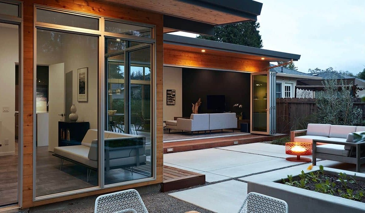 Eichler house San Carlos California_Klopf architect - exterior