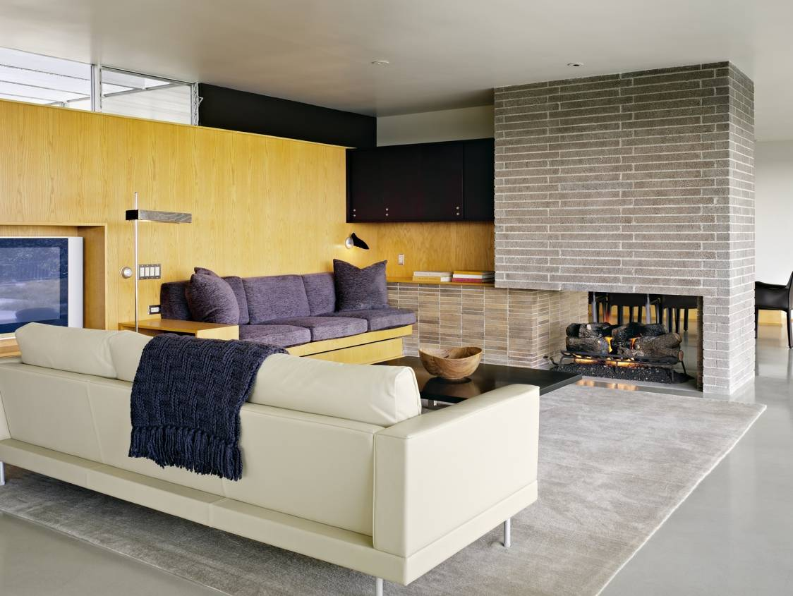 Richard Neutra Clarck House - living