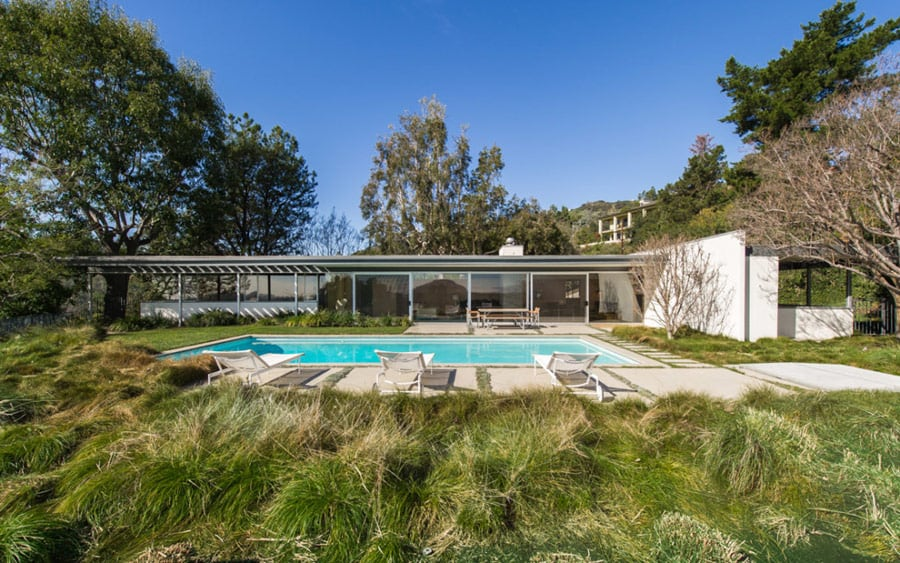 Richard Neutra Clarck House - pool