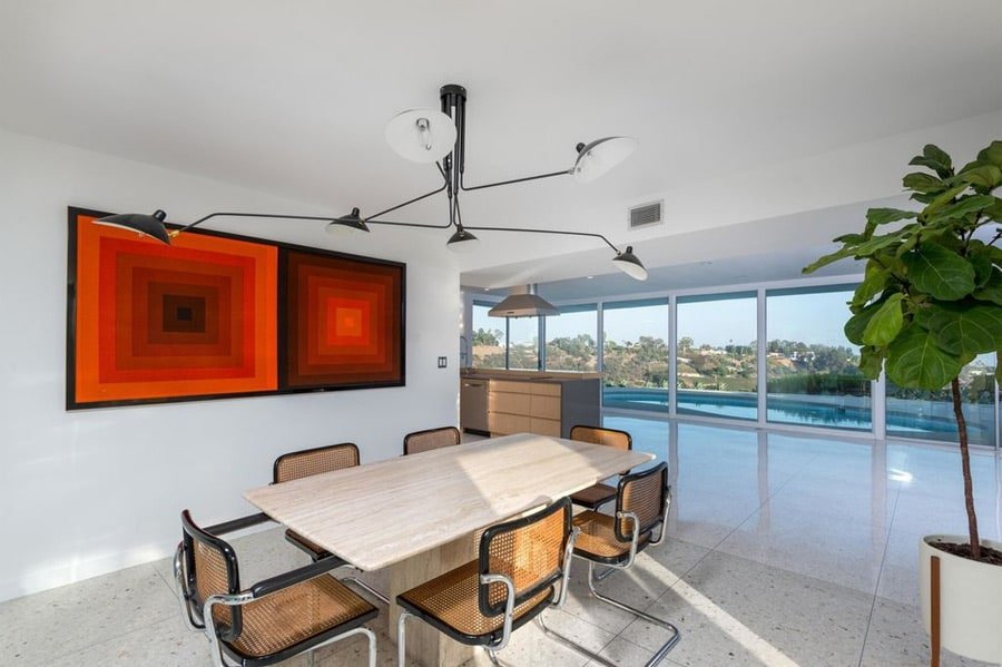 Mid-century Bel Air by Robert L Earll - dining area