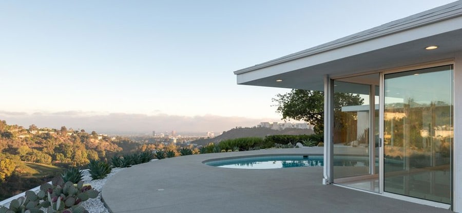 Mid-century Bel Air by Robert L Earll - exterior
