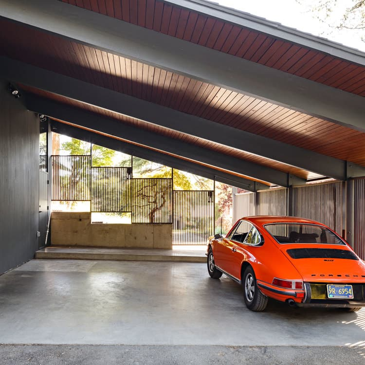 Image Result For Carport Under Modern House: This Mid-Century House Designed By Saul Zaik Gets A