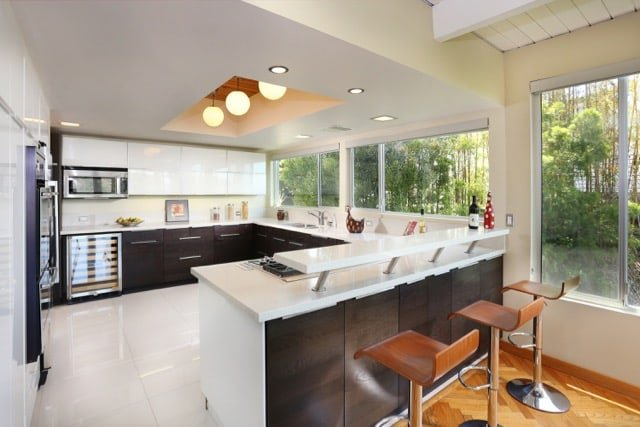 William Beckett - mid-century Platform House Beverly Hills - kitchen