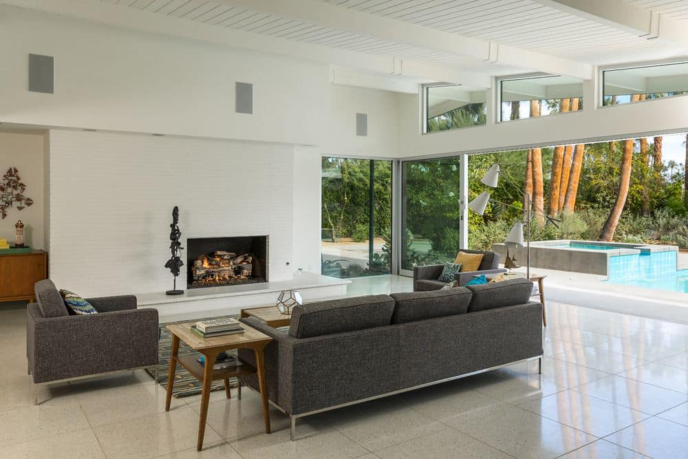 William-Krisel-in-Palm-Springs mid-century house - living
