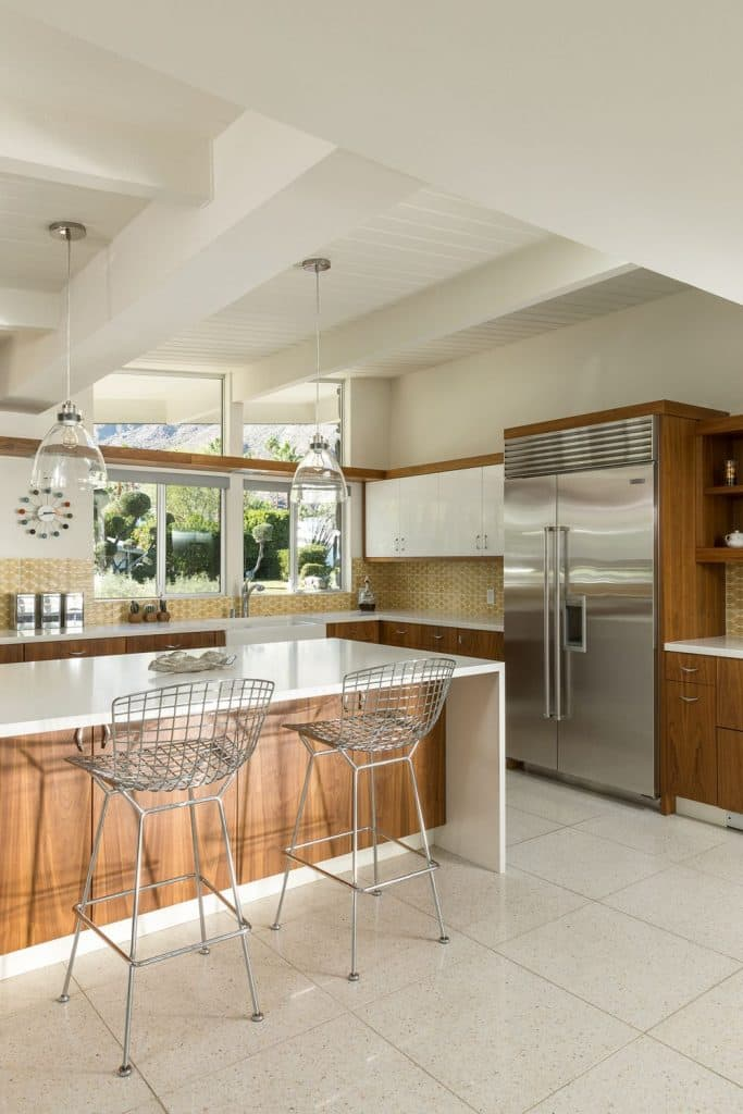 William-Krisel-in-Palm-Springs mid-century house - kitchen