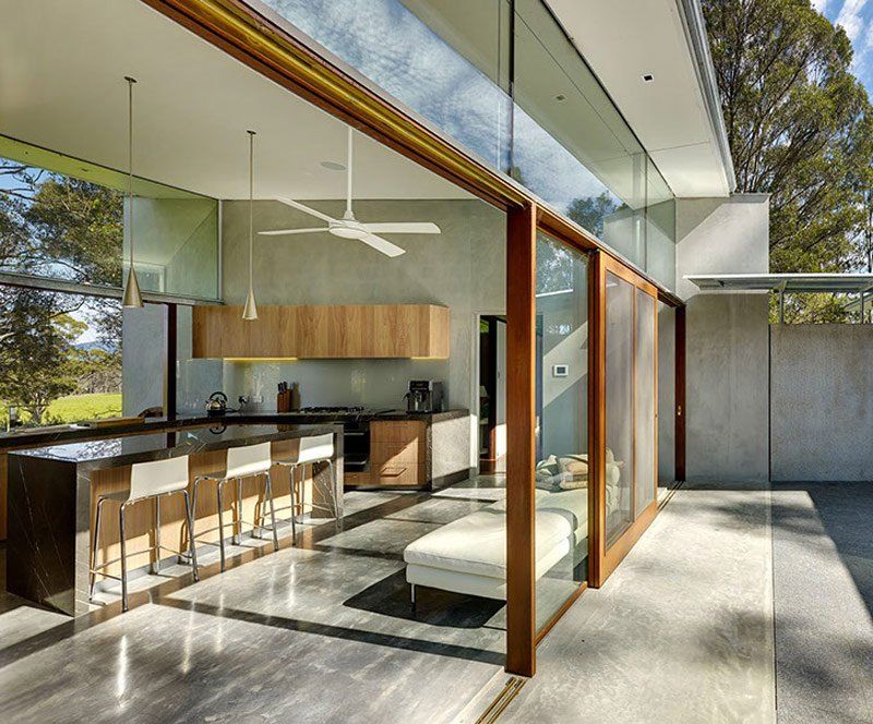 Contemporary House Fergus Scott Architects - kitchen