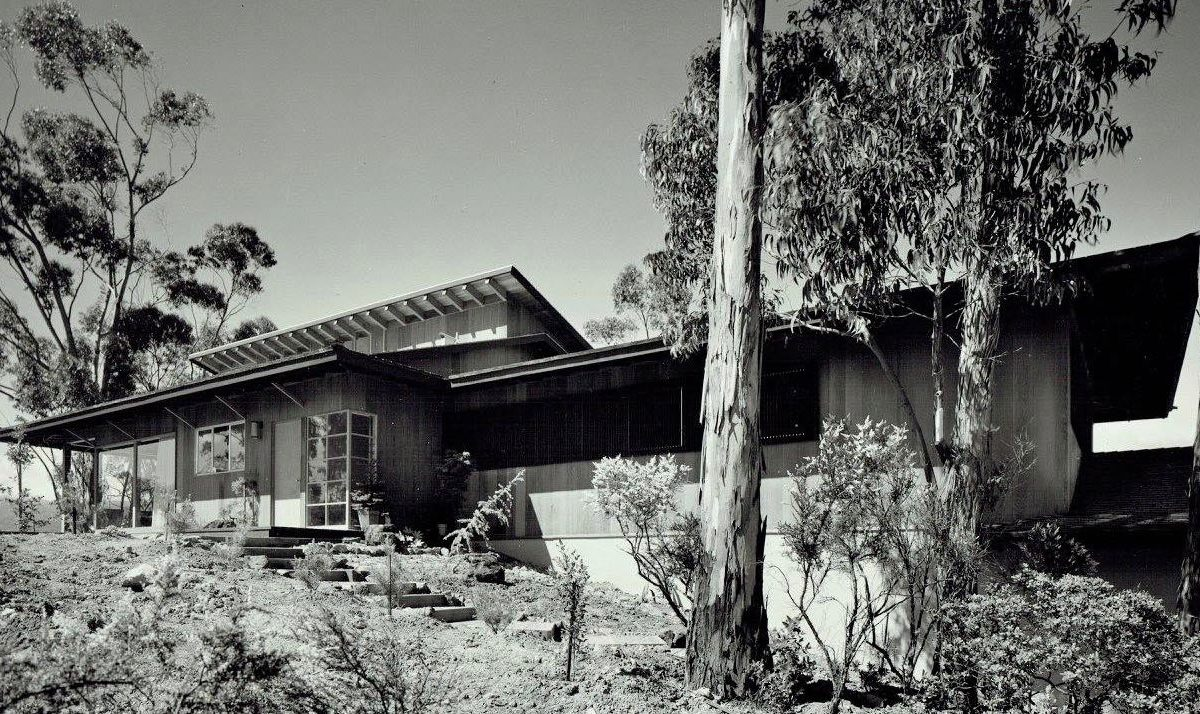 architect Wm F. Hempel Japanese style house_exterior