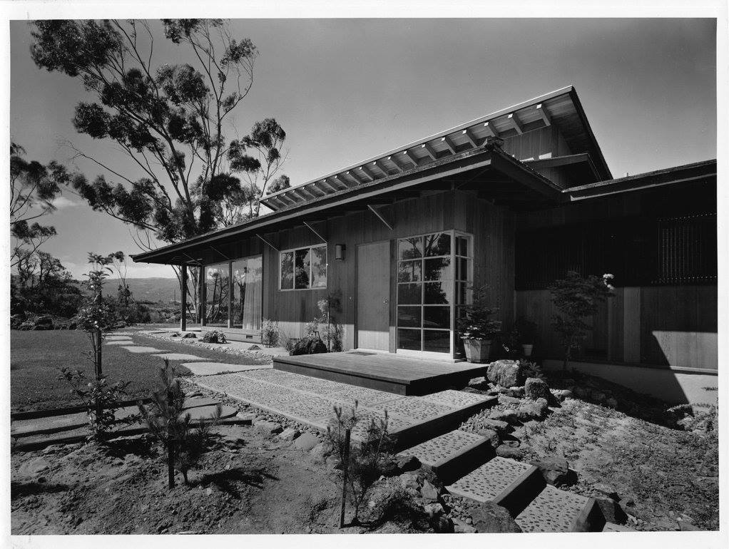mid-century modern japanese style - Wm F. Hempel - outside
