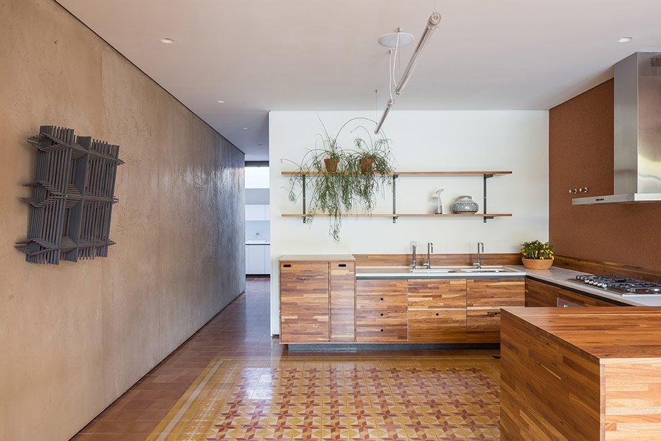 modernist brazilian casa 28 - lamas architecture_ kitchen
