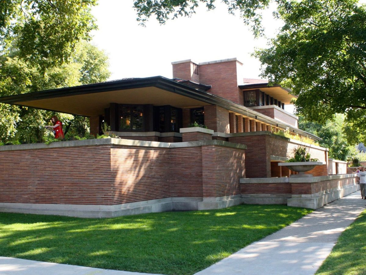 Houses for sale in illinois house plan 2017 for Frank lloyd wright prairie house plans