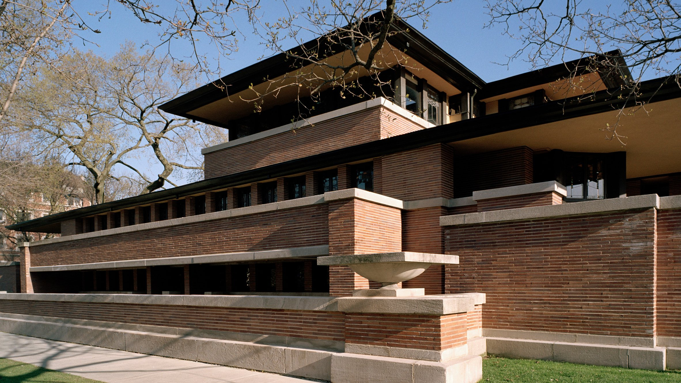 robie-house-illinois-frank-lloyd-wright - exterior