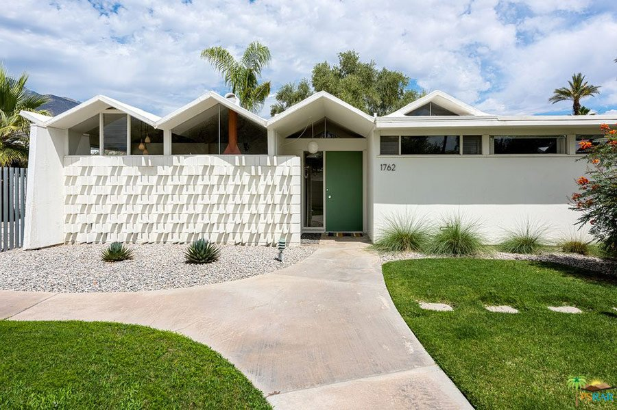 Barry Berkus mid-century house Palm Springs - front