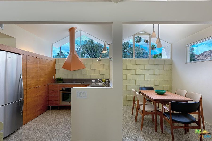 Barry Berkus mid-century house Palm Springs - dining
