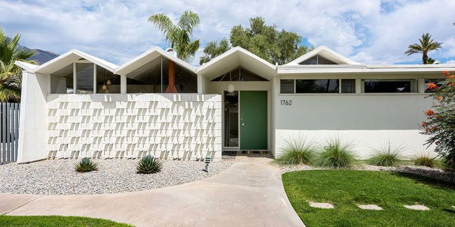 Barry Berkus mid-century house Palm Springs -