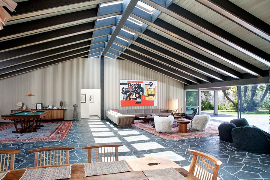 The Mid Century Inspired Benedict Canyon House Is Full Of Idiosyncrasies Mid Century Home