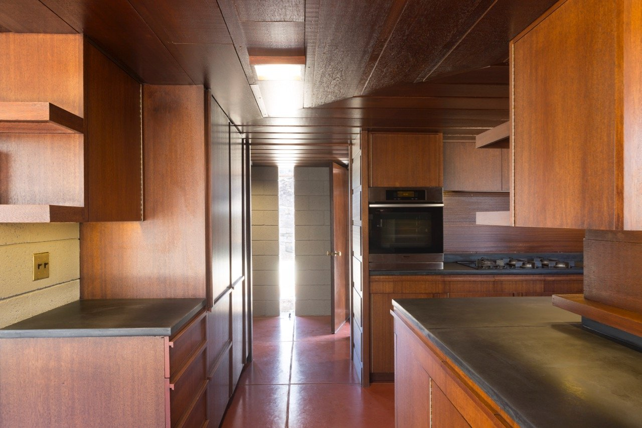 Frank Lloyd Wright - Bachman-Wilson House - kitchen