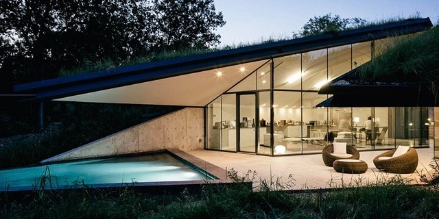 edgeland house - bercy chen studio - outside