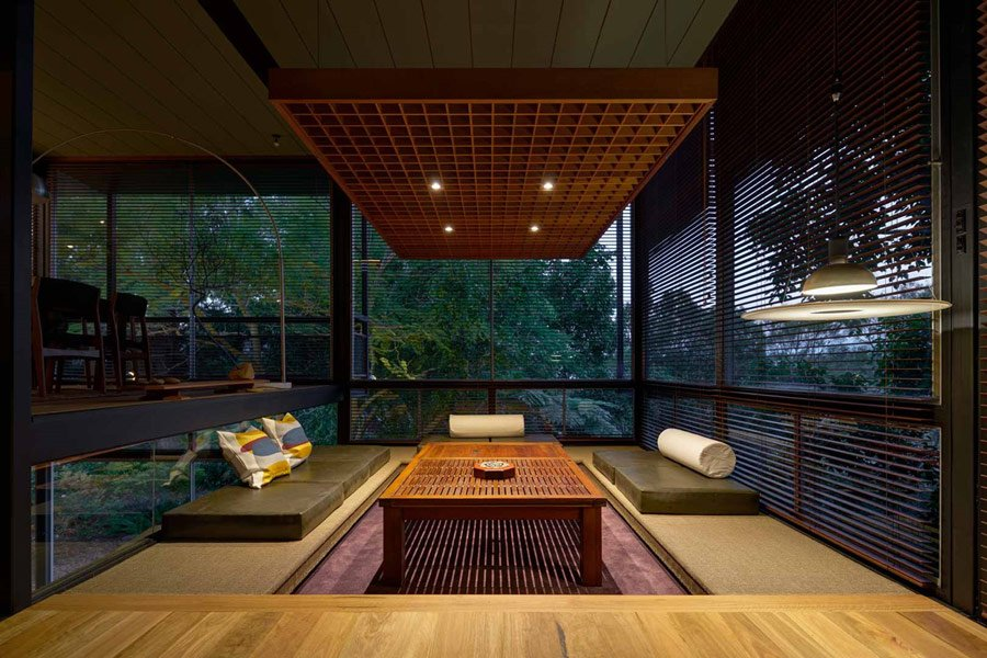 Mid-century House New South Wales - living