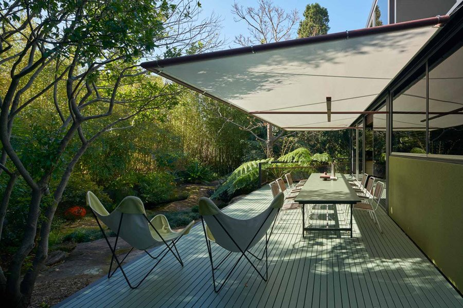 Mid-century House New South Wales - terrace