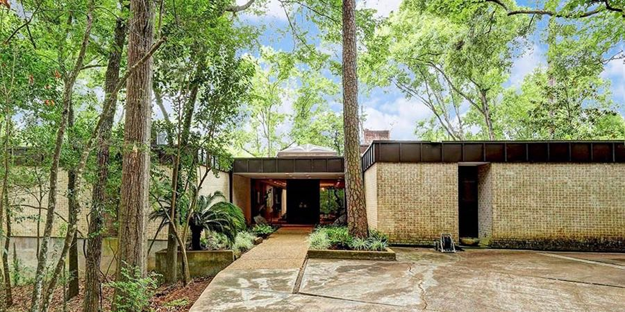 Mid century modern homes contemporary style houses for Modern houses in houston
