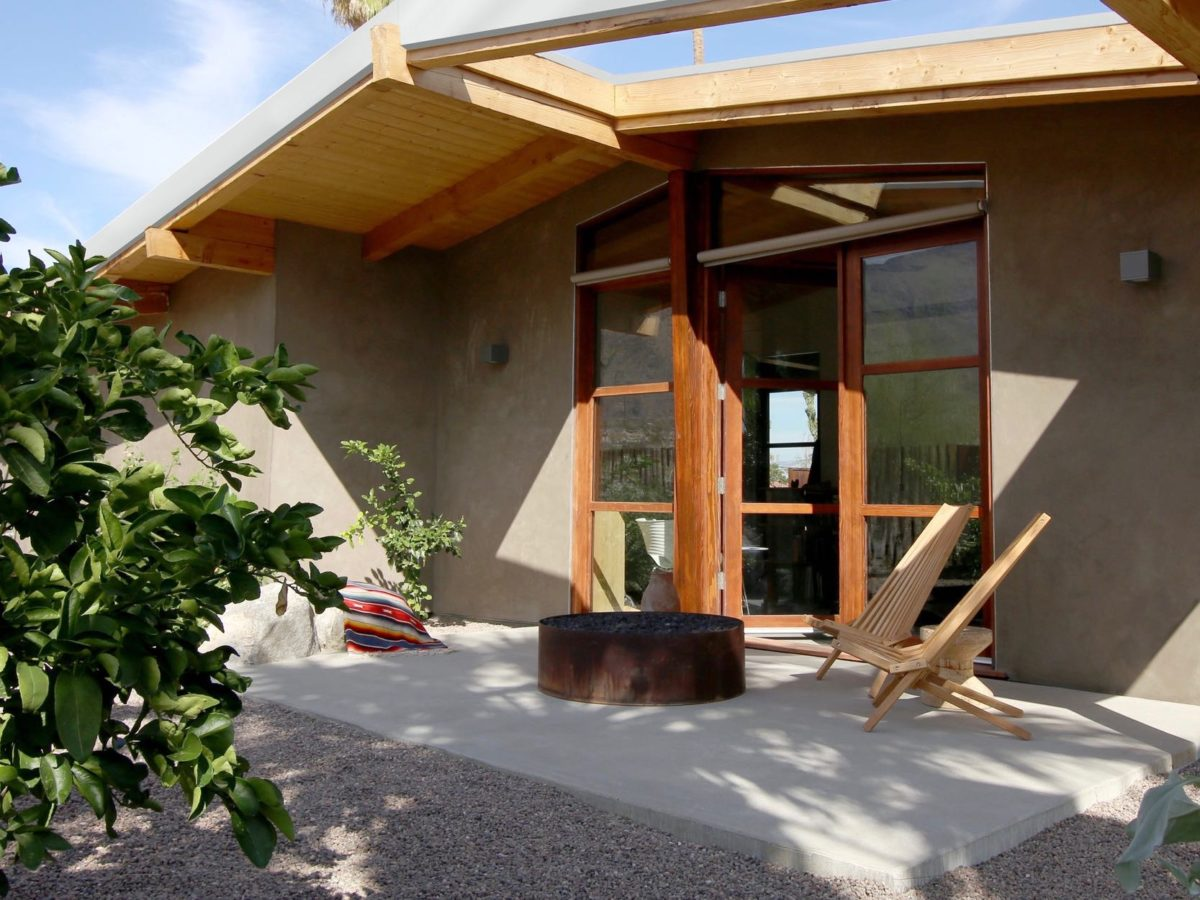 cliff may ranch style mid-century in palm springs - back