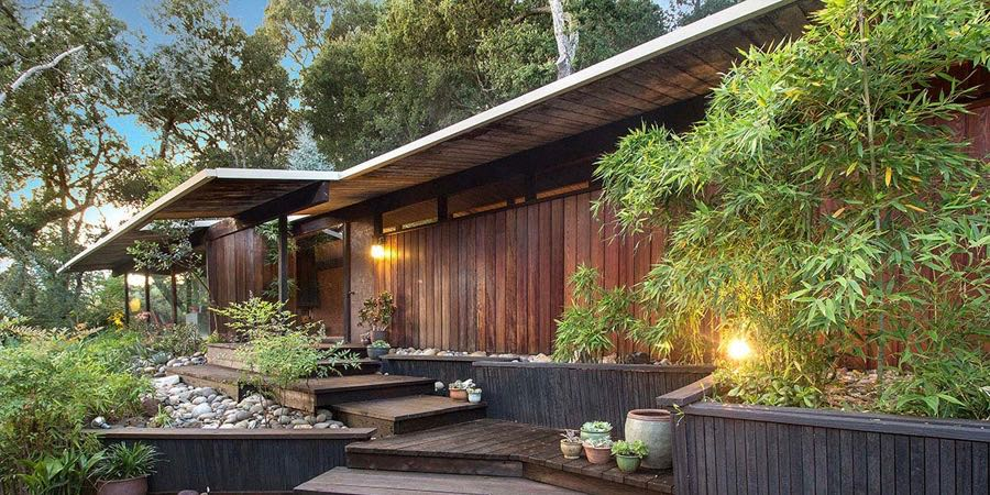 Mid Century Home in California by Roger Lee - exterior