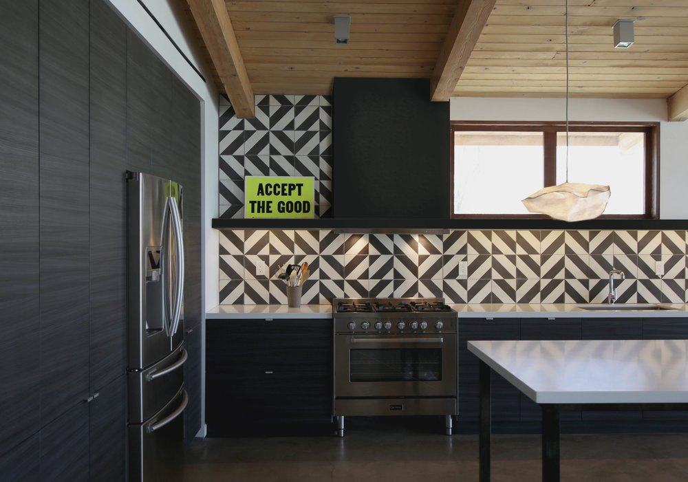 cliff may ranch style mid-century in palm springs - kitchen