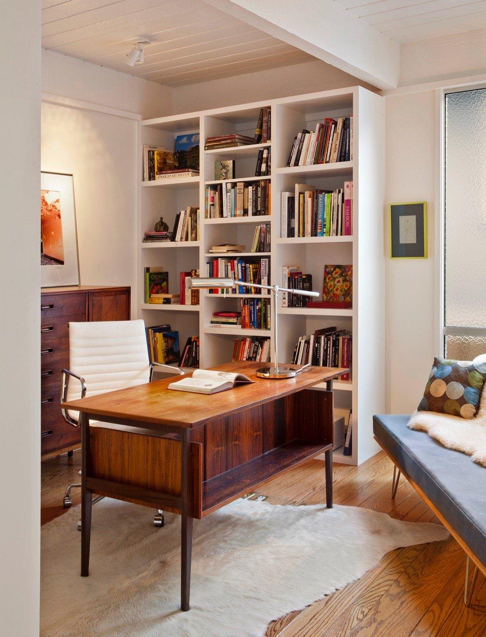 Mid-century Burnett Residence - studio