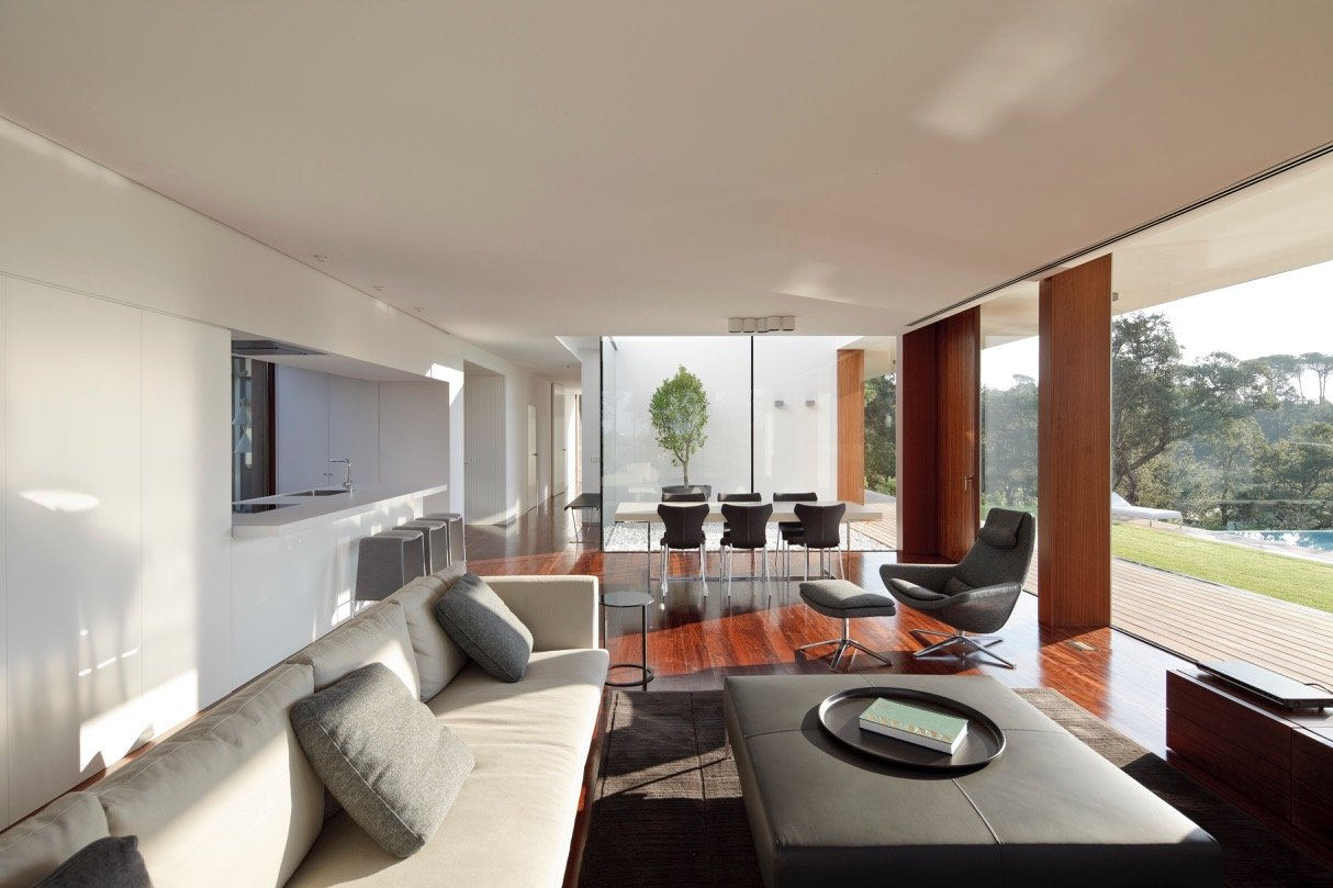 Modernist house - Arquitecturia Camps Felip WI02 - living room
