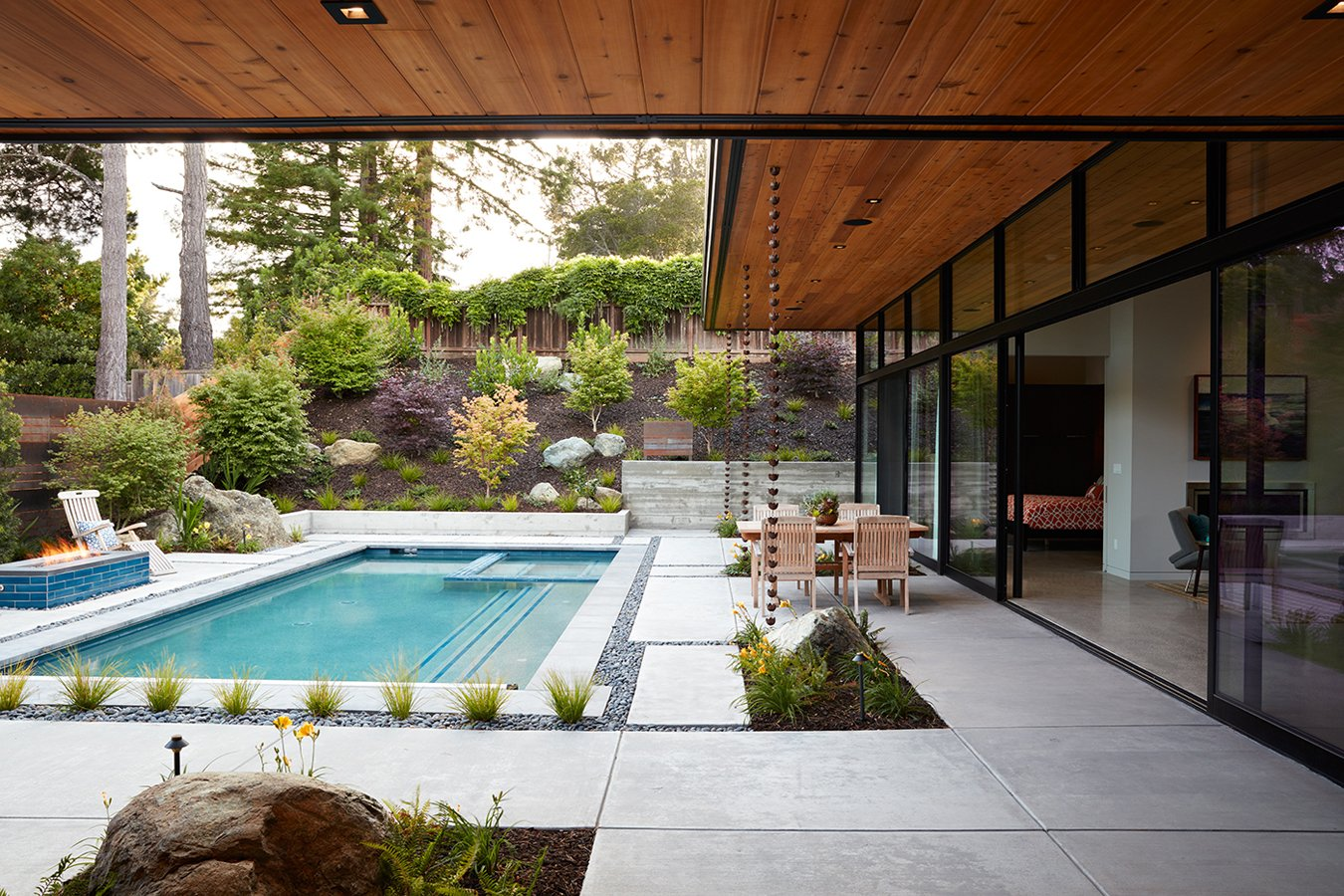 A Modern Glass House With a Mid-Century Inspiration by ... on Modern Glass House  id=93372