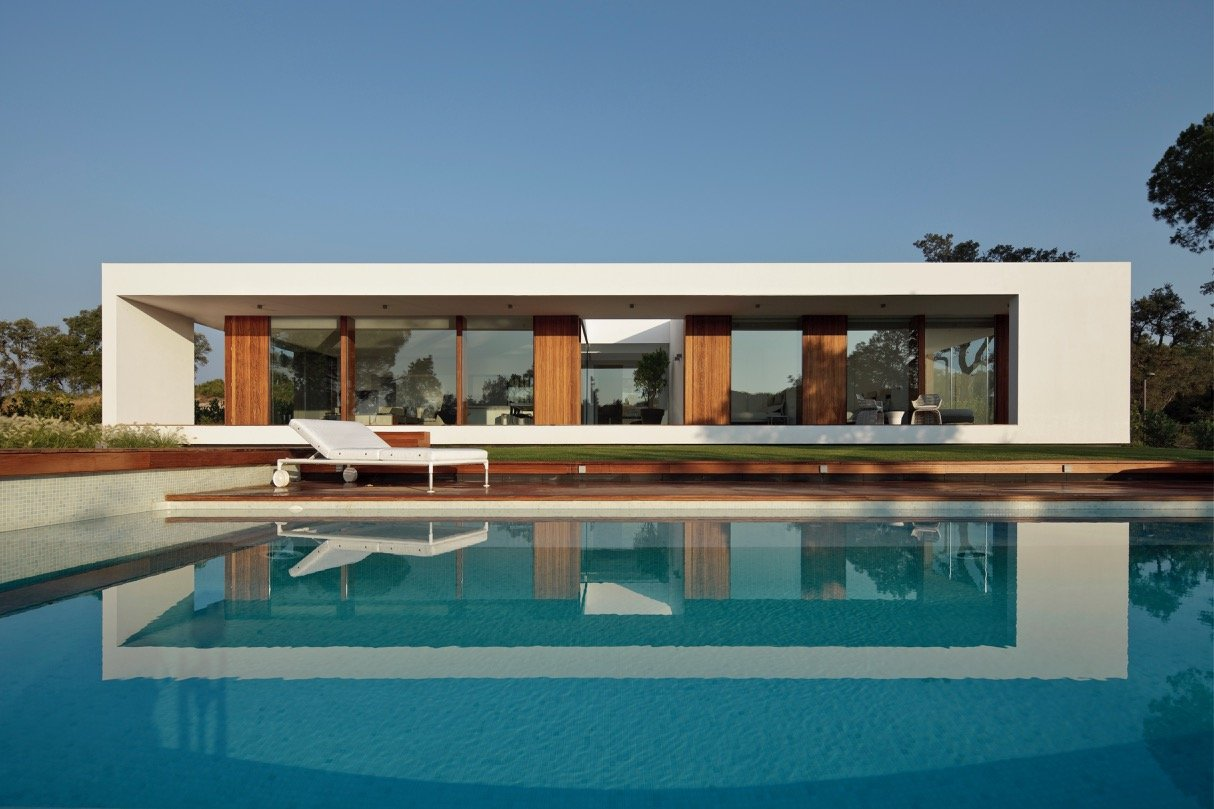 Modernist house - Arquitecturia Camps Felip WI02 - pool