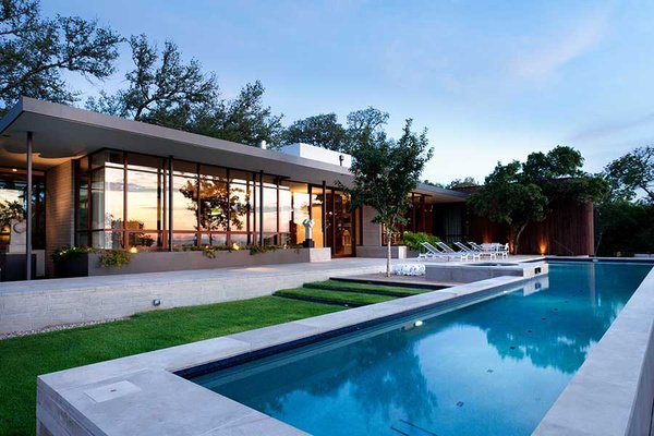 Modern house - Wilmington Gordon architects - pool