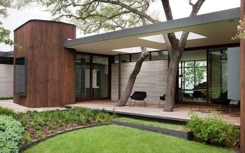 Modern house - Wilmington Gordon architects - exterior