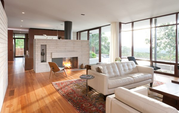 Modern house - Wilmington Gordon architects - living room